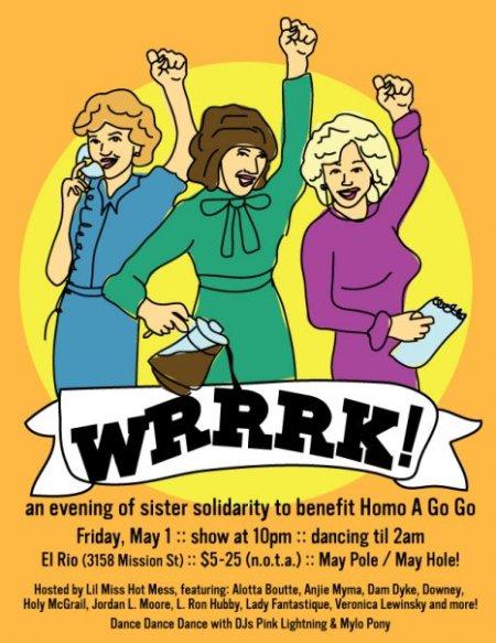 WRRRK! Flyer