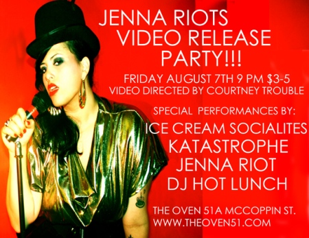 Jenna Riot Video Release Party